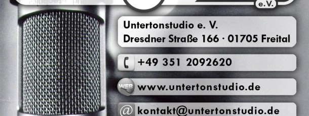 BUSINESS CARD – UNTERTONSTUDIO