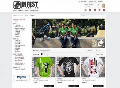 INFEST CLOTHING